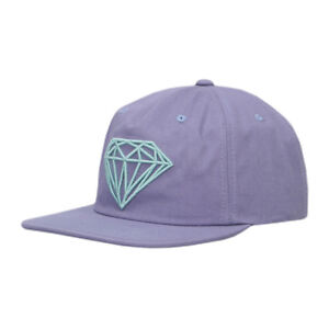 c11b22076a7 Image is loading DIAMOND-SUPPLY-CO-BRILLIANT-UNCONSTRUCTED-SNAPBACK-CAP -PURPLE
