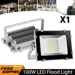 100W-LED-Flood-Light-Cool-White-Waterproof-Outdoor-Spotlight-Garden-Yard-Lamp-US