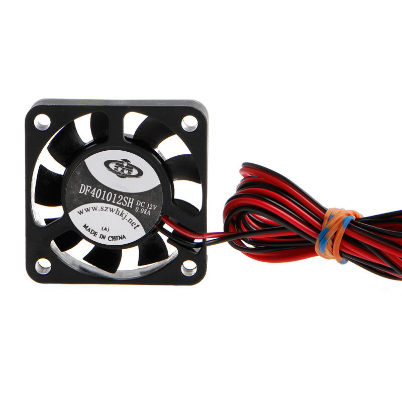 12V Cooling Fan 40mm 4010s For CPU GPU RepRap 3D Printer Extruder Hot EndAHK