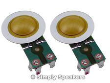 SWR Goliath Diaphragm For Horn Driver SS Audio Speaker Repair Part 2 Pack