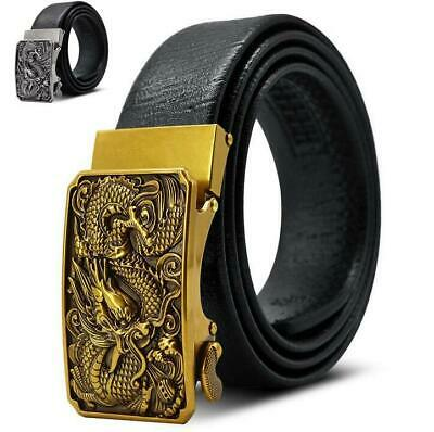Men Superman Belt Automatic Buckle Leather Material Casual Home Design Accessory