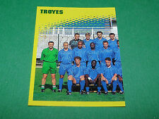 N°401 EQUIPE PART 1 TROYES ATAC D2 PANINI FOOT 98 FOOTBALL 1997-1998