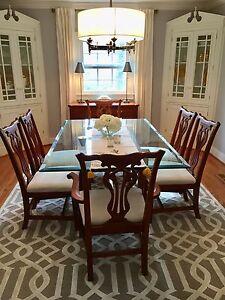 ... Knob Creek Dining Room Set 6 Chairs Buffet