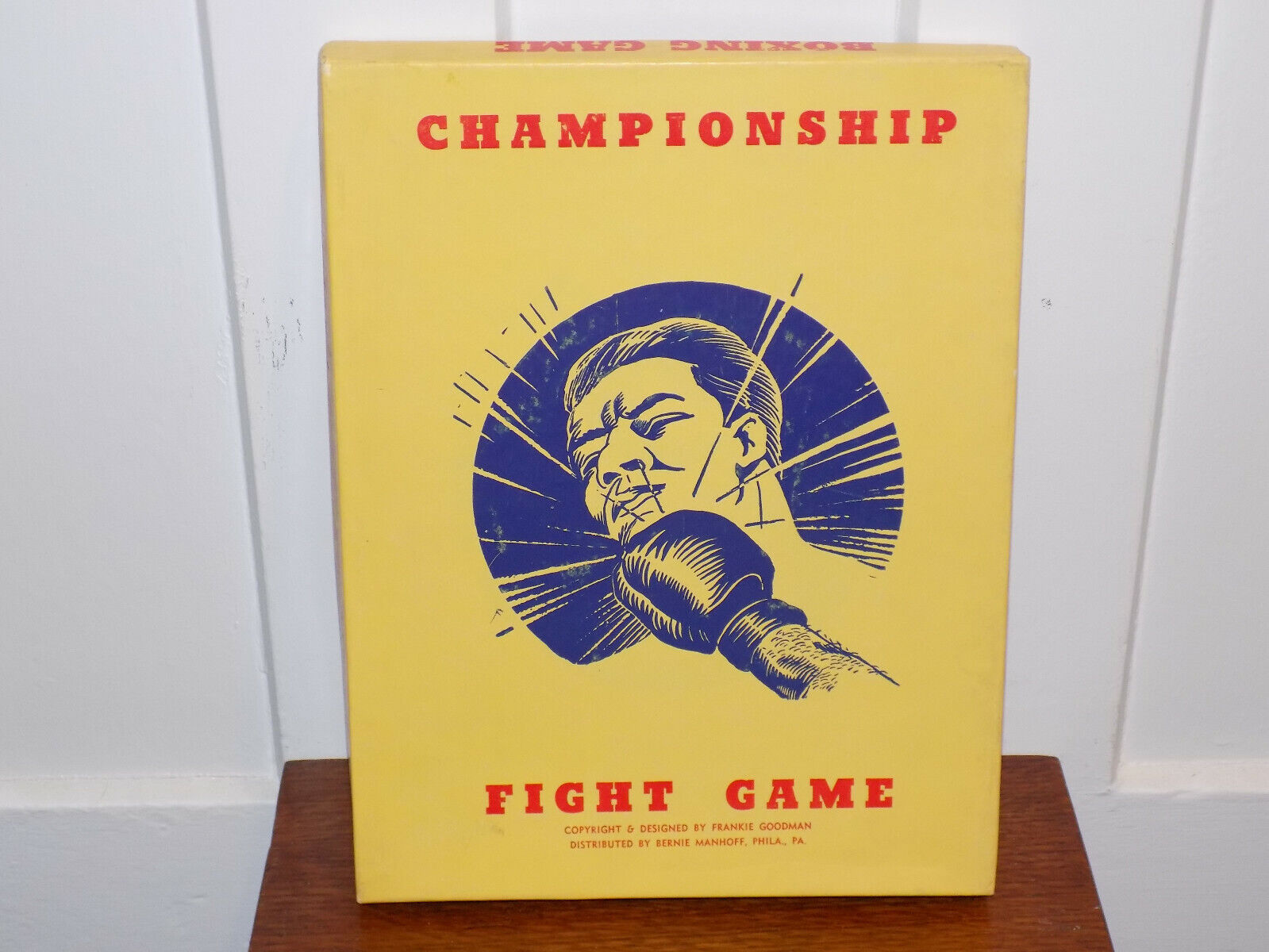 Vintage Championship Fight Game Boxing Board Game