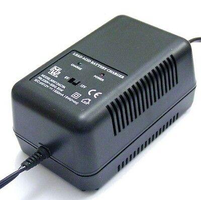 1.5 Amp Charger for 6V & 12V sealed lead-acid batteries.