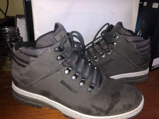 Park Authority by K1X H1ke Territory Superior Schuhe Boots Grau Größe 44 OVP