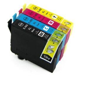 CARTOUCHES-encre-compatible-pour-imprimantes-Epson-WF-2860-2865-XP-5100-5105-502