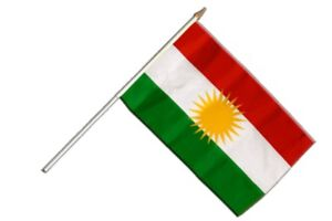 Kurdistan Banner kurdische Fahnen Flaggen 30x45cm