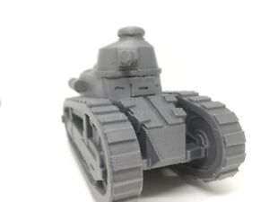 Ww1 1 35 Scale Renault Ft 17 High Quality 3d Printed Tank Ebay