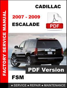 2007 escalade esv service and repair manual