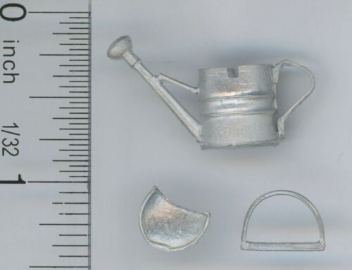 Dollhouse Miniature 1:24 Scale White Metal Watering Can Kit by Phoenix Models