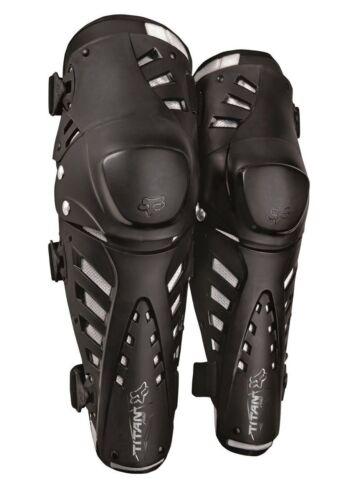 Fox Racing Titan Pro Knee//Shin Guards For Motocross//ATV//BMX Adult One Size Pair