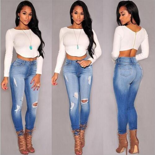 Women Long Sleeve Clothes Crop T-shirt Party Zipper Clubwear Cropped Blouse 6A