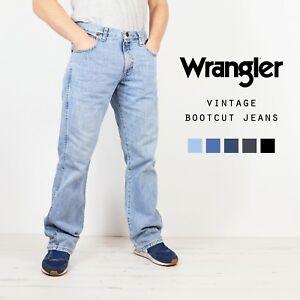Wrangler-Bootcut-Jeans-Denim-Klasse-A-w30-w32-w34-w36-w38-w40