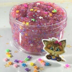 Bingsu-Slime-034-CALICO-CRUNCH-034-SCENTED-Crunchy-Bead-Star-Confetti-Charm-6-8-oz