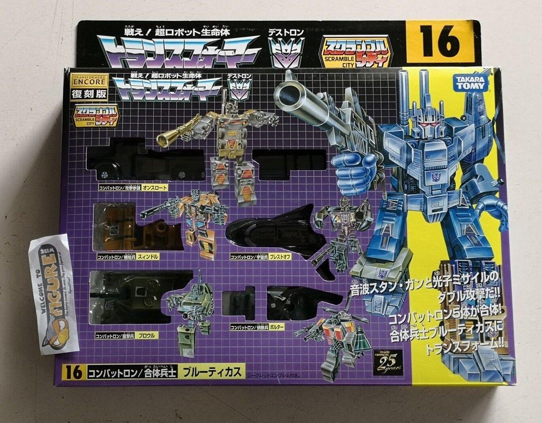 Takara Transformers G1 reedición Encore 16 Combaticons Bruticus Figura De Acción