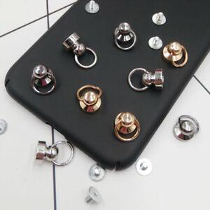 20Pcs-brass-nail-rivet-chicago-stud-screw-round-head-ring-button-silver-goldBC