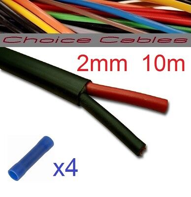 5 CORE AUTO CABLE 1.0mm 16.5 AMP CAR WIRE 20 METRES MULTICORE THINWALL 1MM  20M