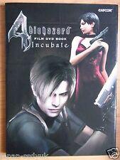 JAPAN Resident Evil 4 Biohazard 4 Film DVD Book Incubate