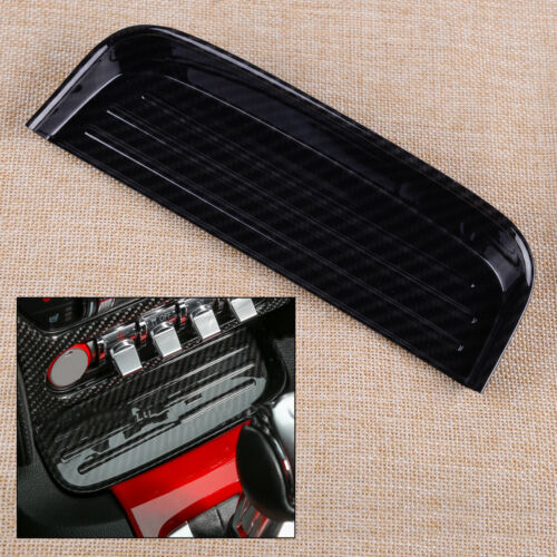 Carbon Interior Center Change Coin Tray Box Holder Fit for Ford Mustang 2015-18