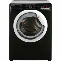 Hoover Dxoc410c3b One Touch A+++ 10kg 1400 Spin Washing Machine Black / Chrome