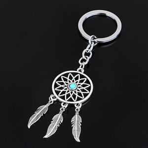 Alloy Tassels Bohemia Pendant Key Chain Ring Dream Catcher  Jewery