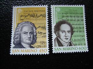 San-Marino-Briefmarke-Yvert-Und-Tellier-N-1107-1108-N-A22-Briefmarke