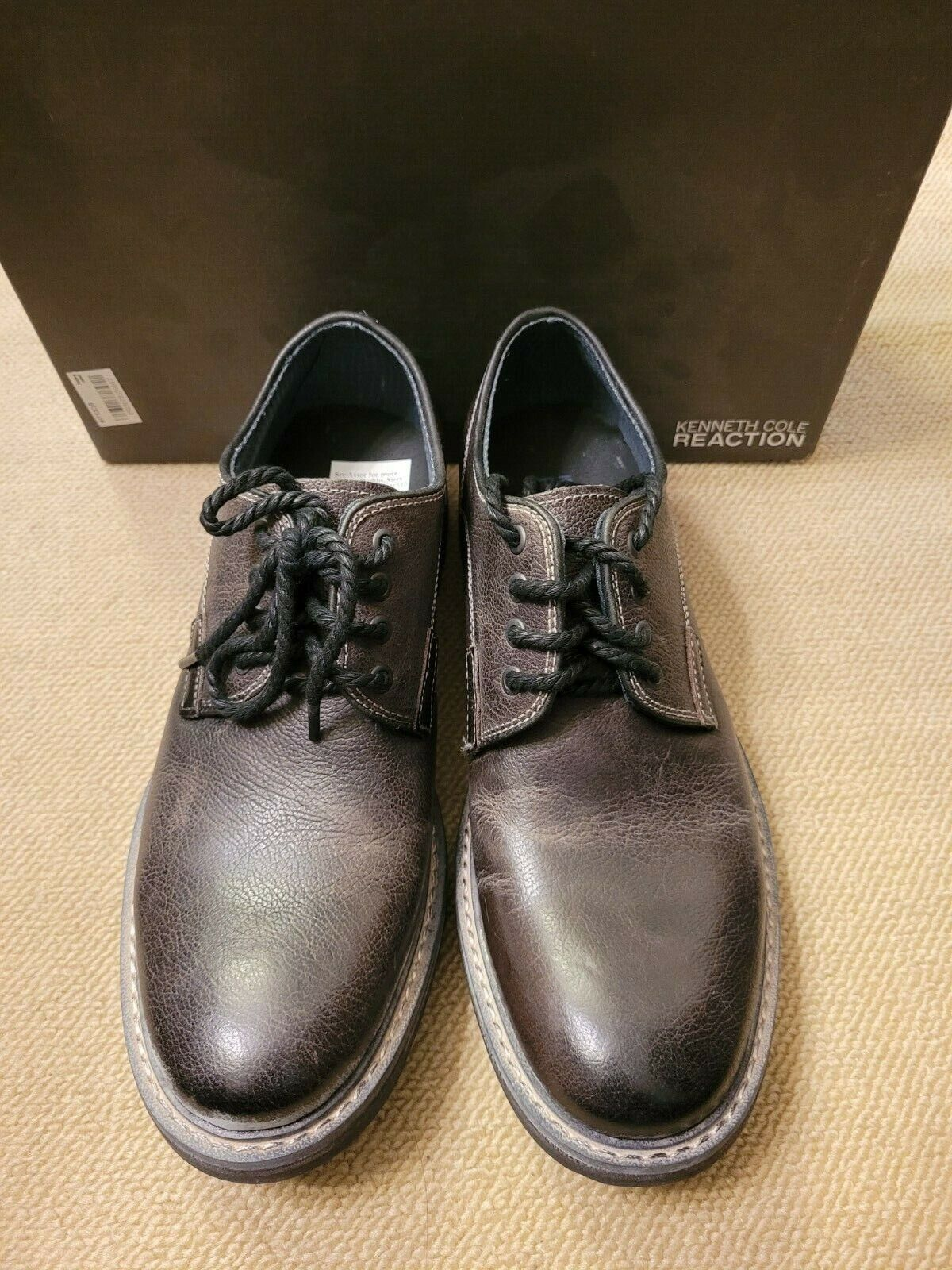 Kenneth Cole Reaction men's leather shoes brand new size 7