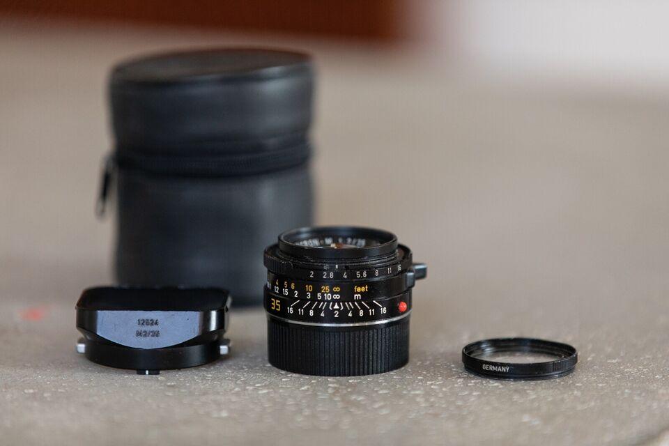 fast objektiv, Leica, summicron