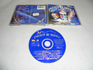 CD-Energy-of-Dance-Vol-3-13-Tracks-1996-Centory-Magic-Affair-Sqeezer-Worlds-Apar