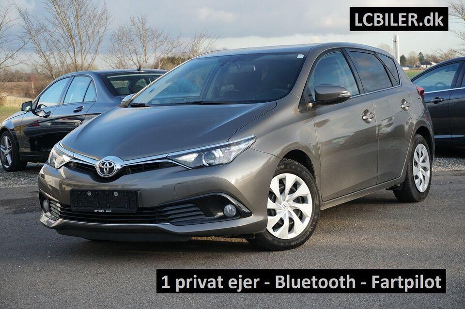 Toyota Auris 1,2 T T2 Comfort Benzin modelår 2016 km 59000