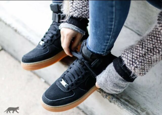 reputable site 82dd4 62a72 Nike Air Force 1 High SE Womens Athletic Fashion Sneakers 860544 004  Size 10