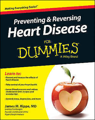 1 of 1 - Preventing and Reversing Heart Disease For Dummies (For Dummies-ExLibrary