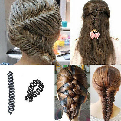 French hair braiding tool roller Magic Twist Styling Bun maker Locks Weaves