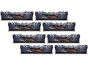 G.SKILL Flare X Series 128GB (8 x 16GB) 288-Pin DDR4 SDRAM DDR4 2933 (PC4 23400)