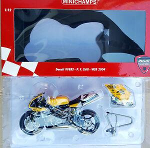 Minichamps Ducati 998rs P. Chili Wsb 2004 Rare !!!
