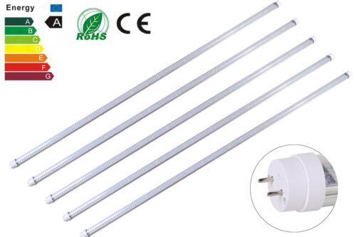 5//25Pcs 4 ft environ 1.22 m 60 W Full Spectrum DEL Plant Grow Light fluorescent T8 tube ampoule lampe