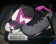 Infants baby boy girl Nike Jordan Retro 7 shoes size 4C Valentine Edition