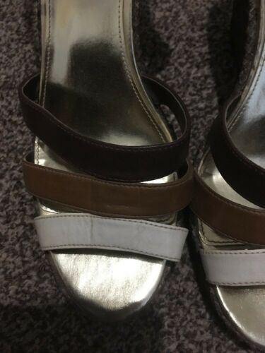 7 Scrappy limitata Marks Size Uk Brown 5 Spencer And Summer Collezione Wedges OqXWwzUz6