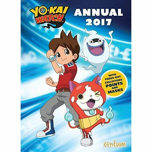 1 of 1 - NEW - Yo Kai Watch OFFICIAL Annual Book 2017 by Centum Books