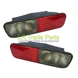 LAND-ROVER-DISCOVERY-2-NEW-FACELIFT-REAR-BUMPER-LIGHTS-LHS-amp-RHS-XFB000720-730