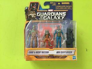 Guardian-Of-the-Galaxy-set-Groot-Raccoon-Nova-officer-MISB