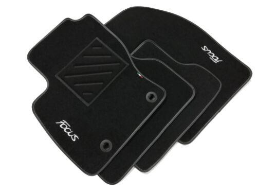 clip Tappetini  Ford Focus 2° serie 2004-2011 2 ricami battitacco