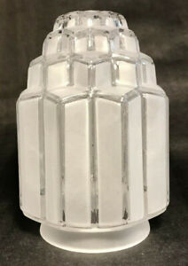 New-3-1-4-034-Fitter-Art-Deco-Skyscraper-Table-Lamp-Shade-Globe-6-1-16-034-Ht-SS967