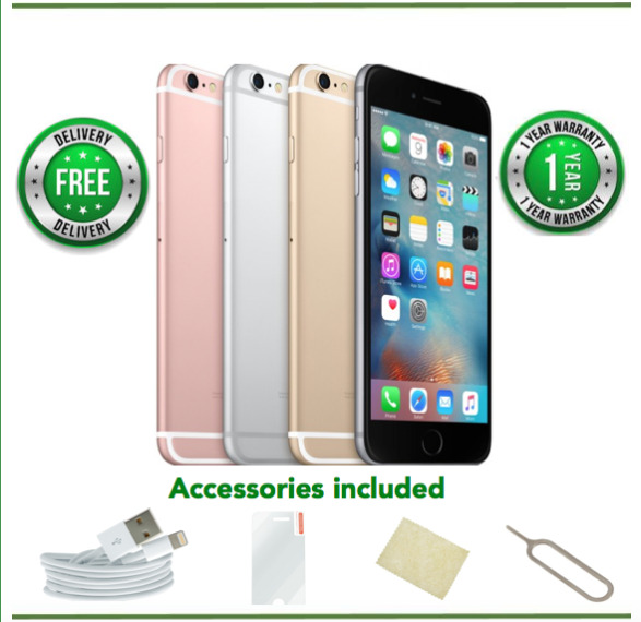 Apple iPhone 6s 16/32/64/128GB Gold/Rose/Silver/Grey Unlocked-Grade A/B/C