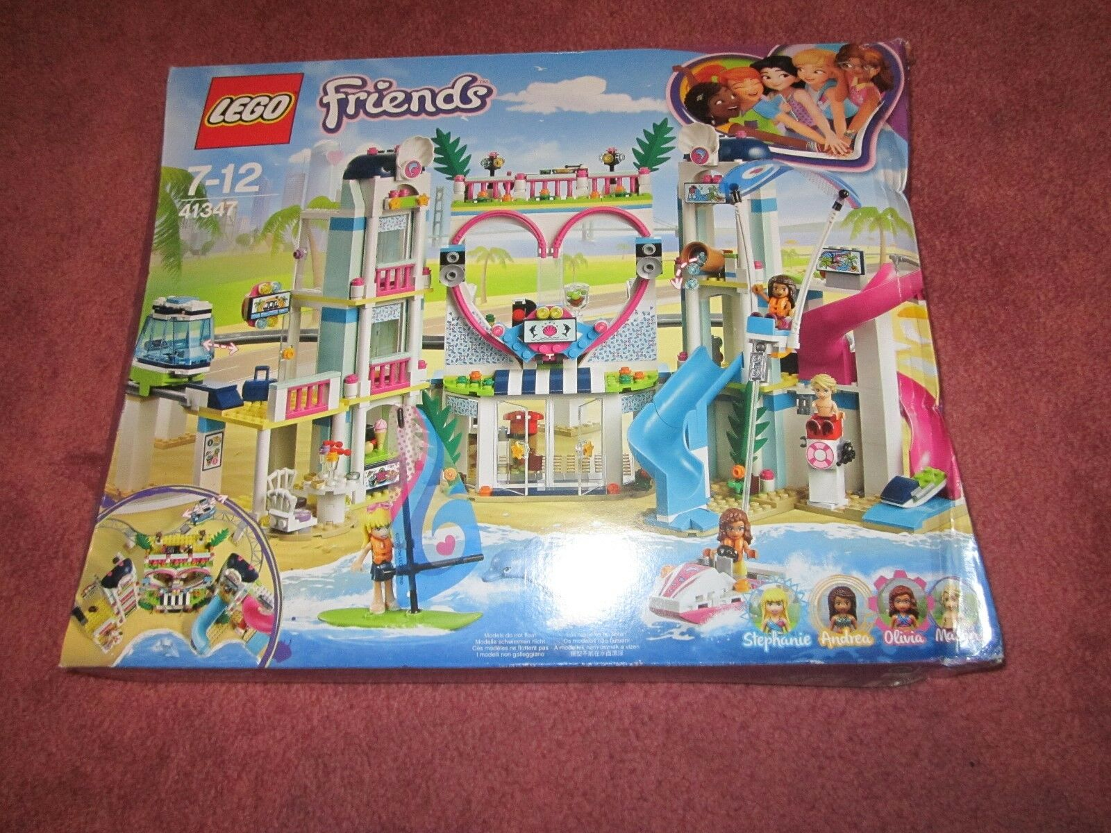 Lego Friends Heartlake City Resort (41347) DAMAGED BOX BOX BOX - SEE PHOTOS - NEW 158ed6