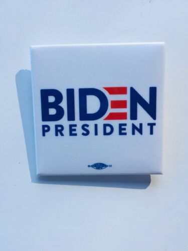"Joe Biden Set Of 10 Presidential 2020-2"" X 2"" Square Buttons."