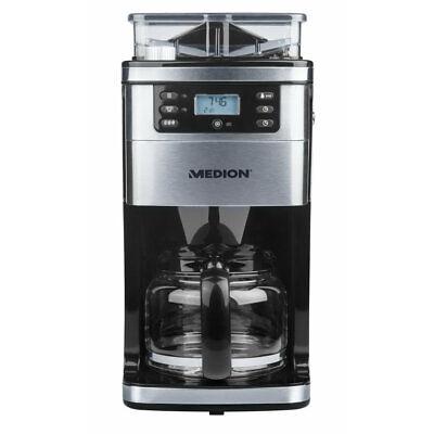 MEDION MD 15486 Kaffeemaschine mit Mahlwerk 1,5L 8 Mahlstufen programmierbar
