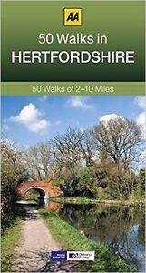 Aa-50-Promenades-en-Hertfordshire-Tout-Neuf-2017-Reimpression-Envoi