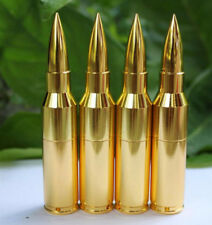 8GB metal gold smooth bullet model usb 2.0 memory flash stick pen thumb drive
